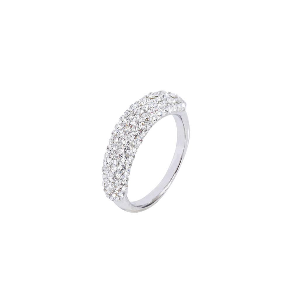 Stella-Bijou Ring Montalino, weiß