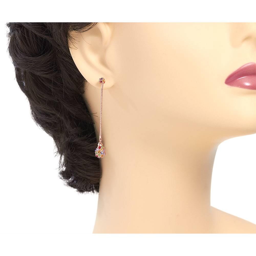 Ohrringe Teardrop - rosé