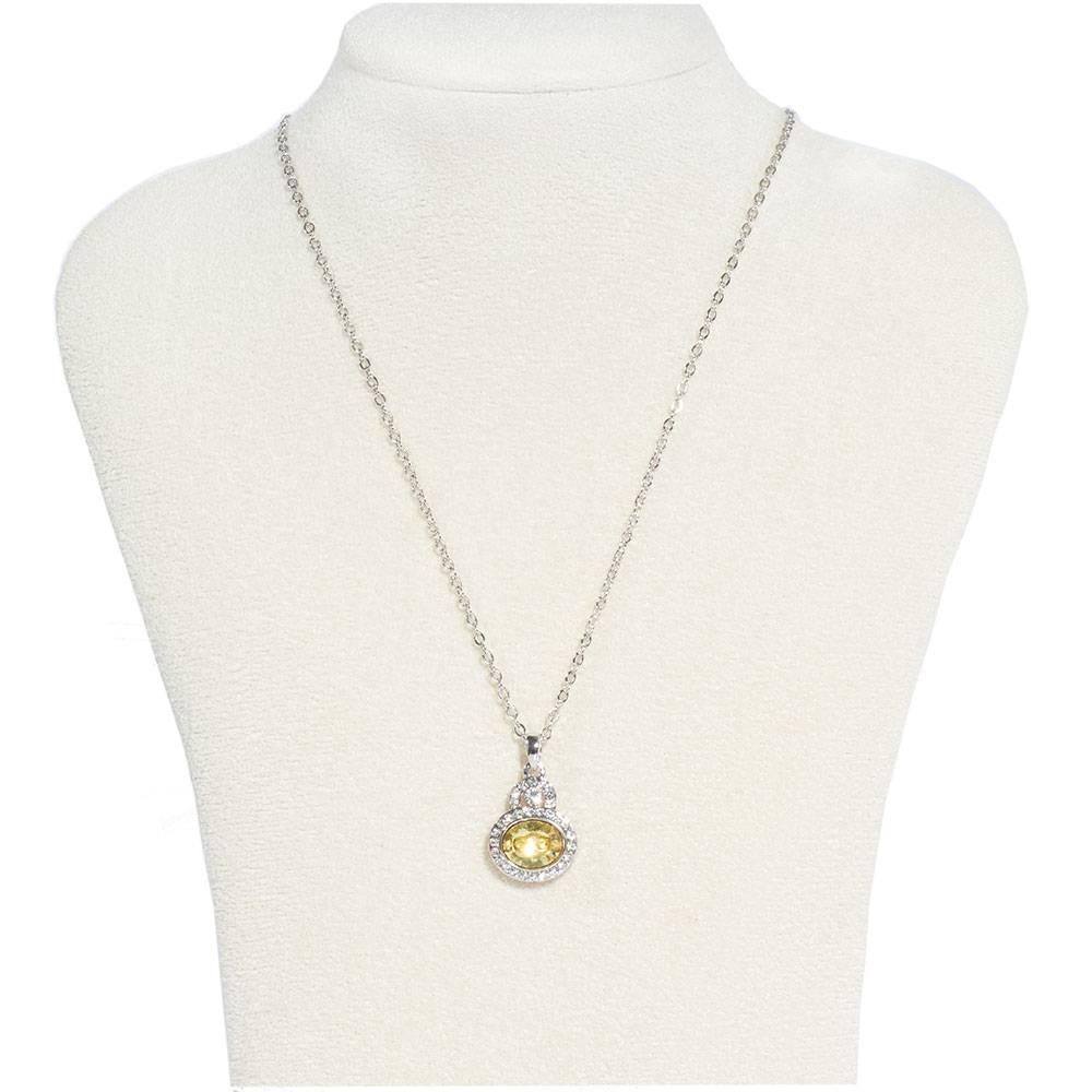 Halskette Venezia - gelb