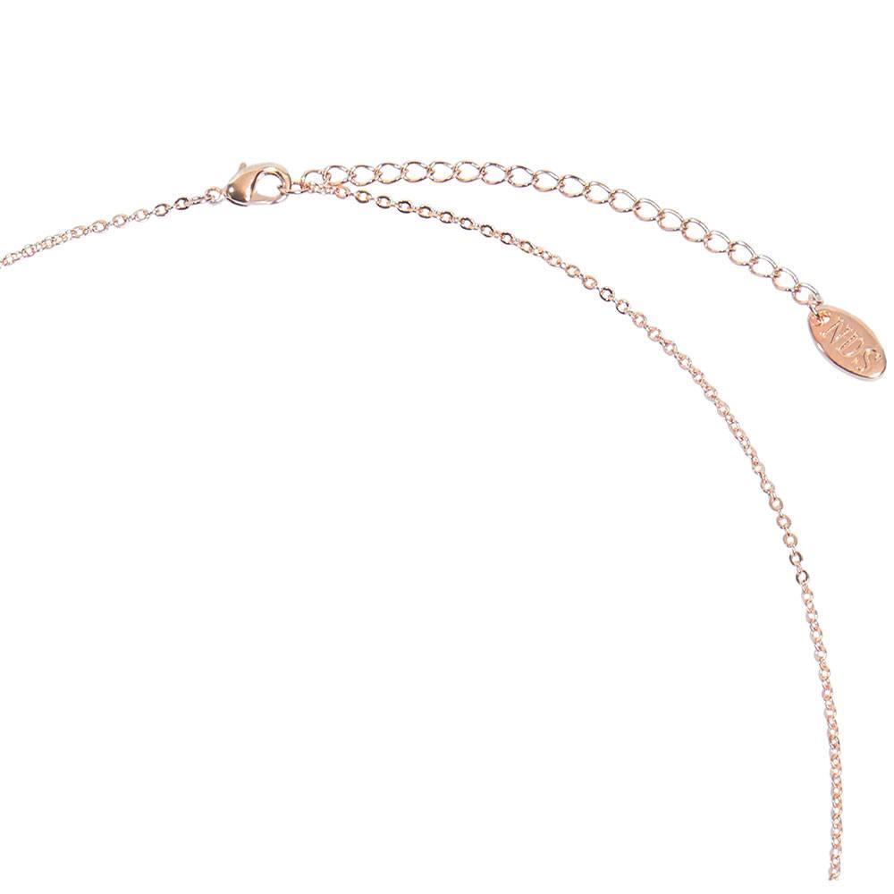 Halskette Dolphin, rosé