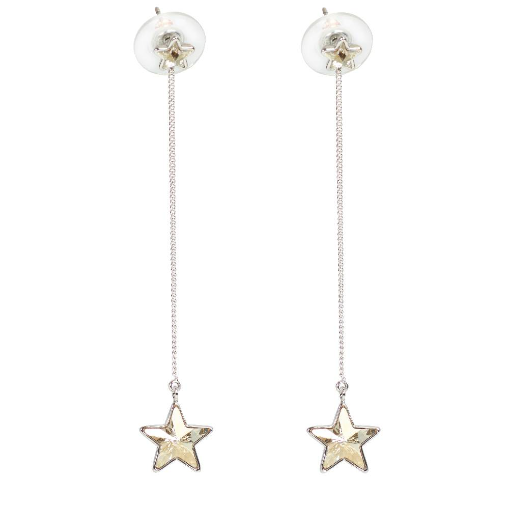 DEMI Collection Long Star weißgold/silvershade