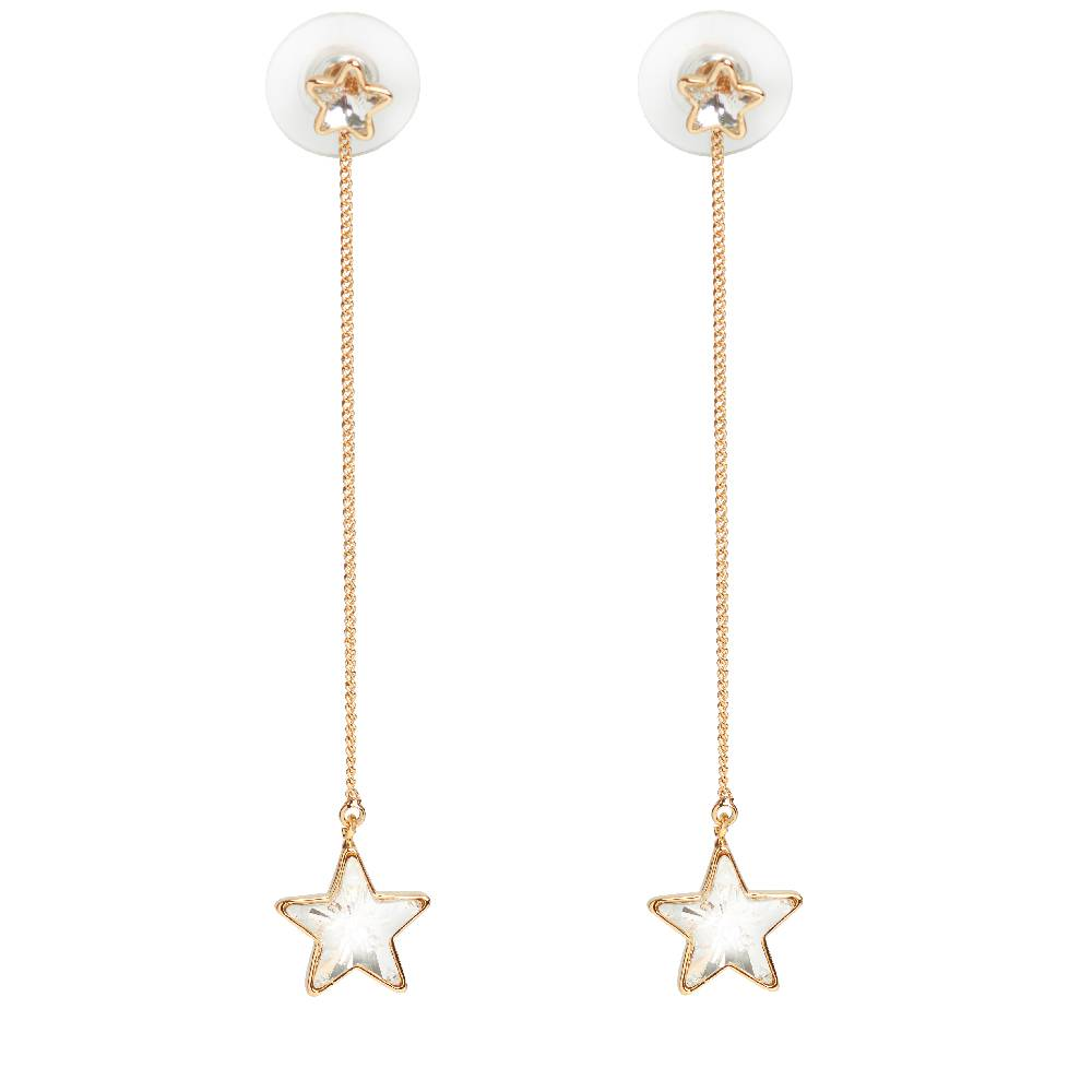 DEMI Collection Long Star gold/weiß
