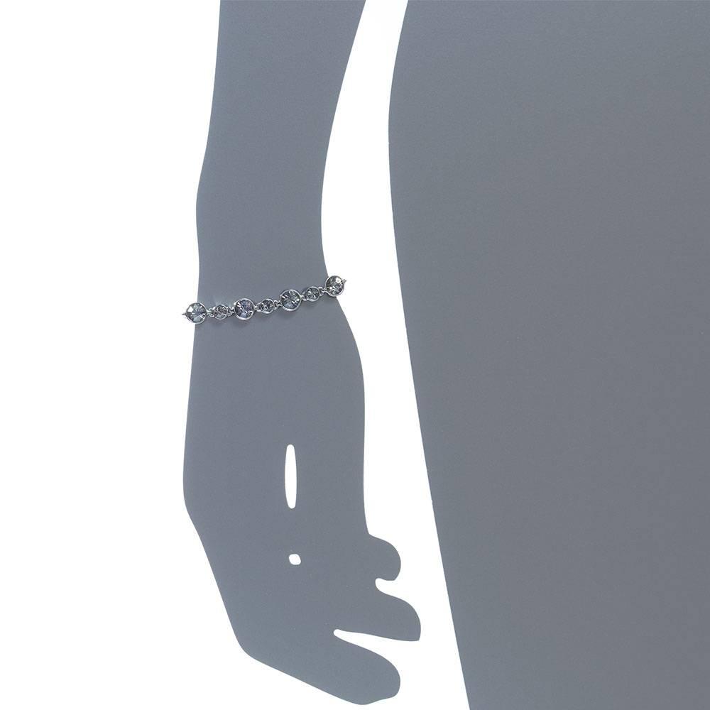 Armband Vario, dkl.grau