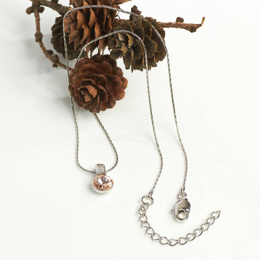 AH-Schmuckdesign Halskette Brillante silk