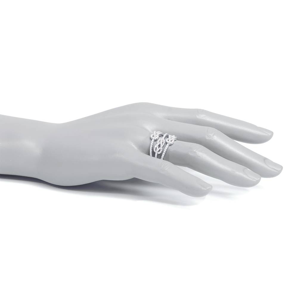 Stella-Bijou Ring Grace, weiß
