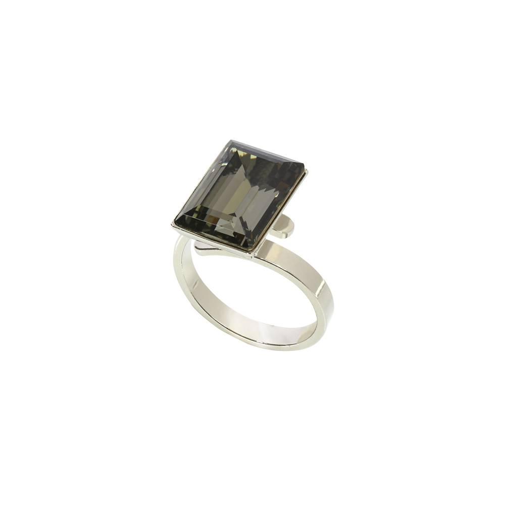 AH-Schmuckdesign Ring Candy, dkl.grau