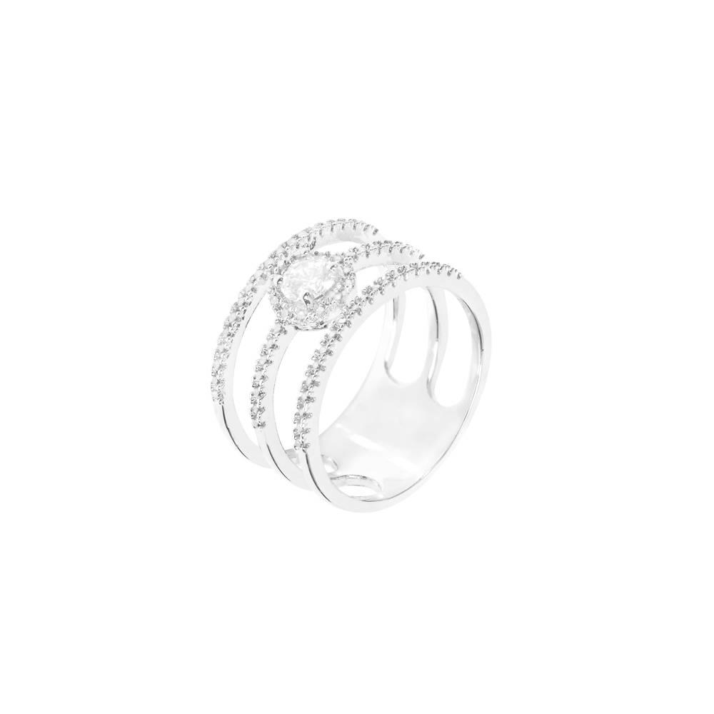 Exklusive Ringe in weißgold/Platin/rhodiniert