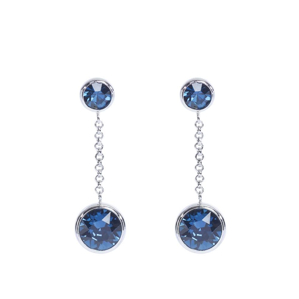 DEMI Collection Ohrringe/Ohrstecker Thunderball Mini dunkelblau