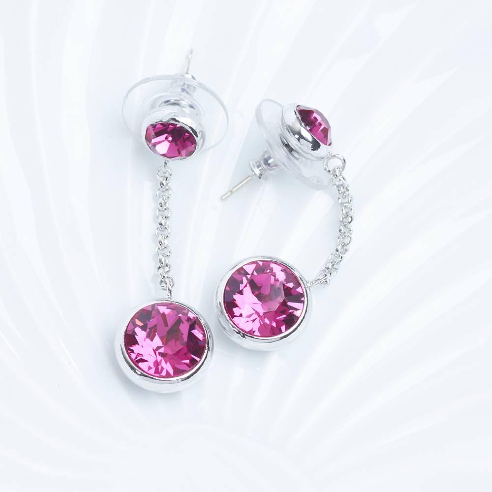 Ohrringe/Ohrstecker Thunderball Mini pink