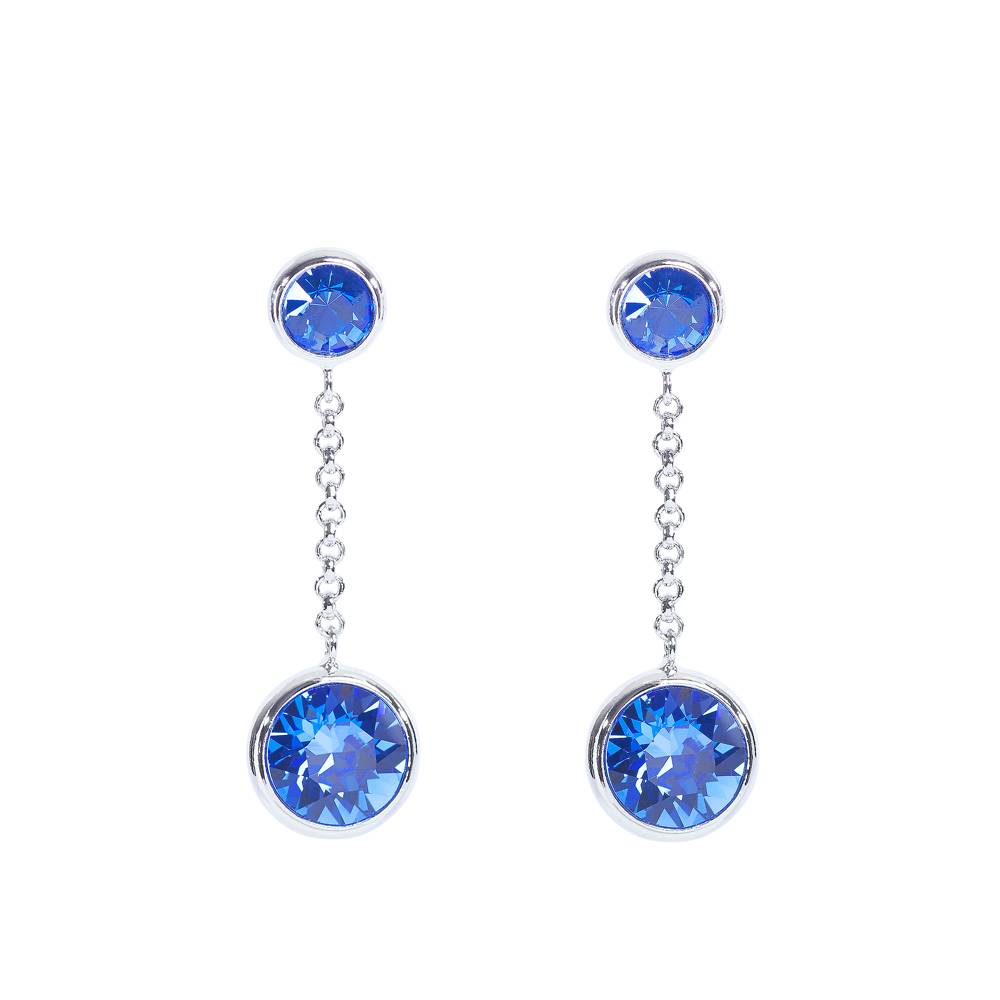 DEMI Collection Ohrringe/Ohrstecker Thunderball Mini blau