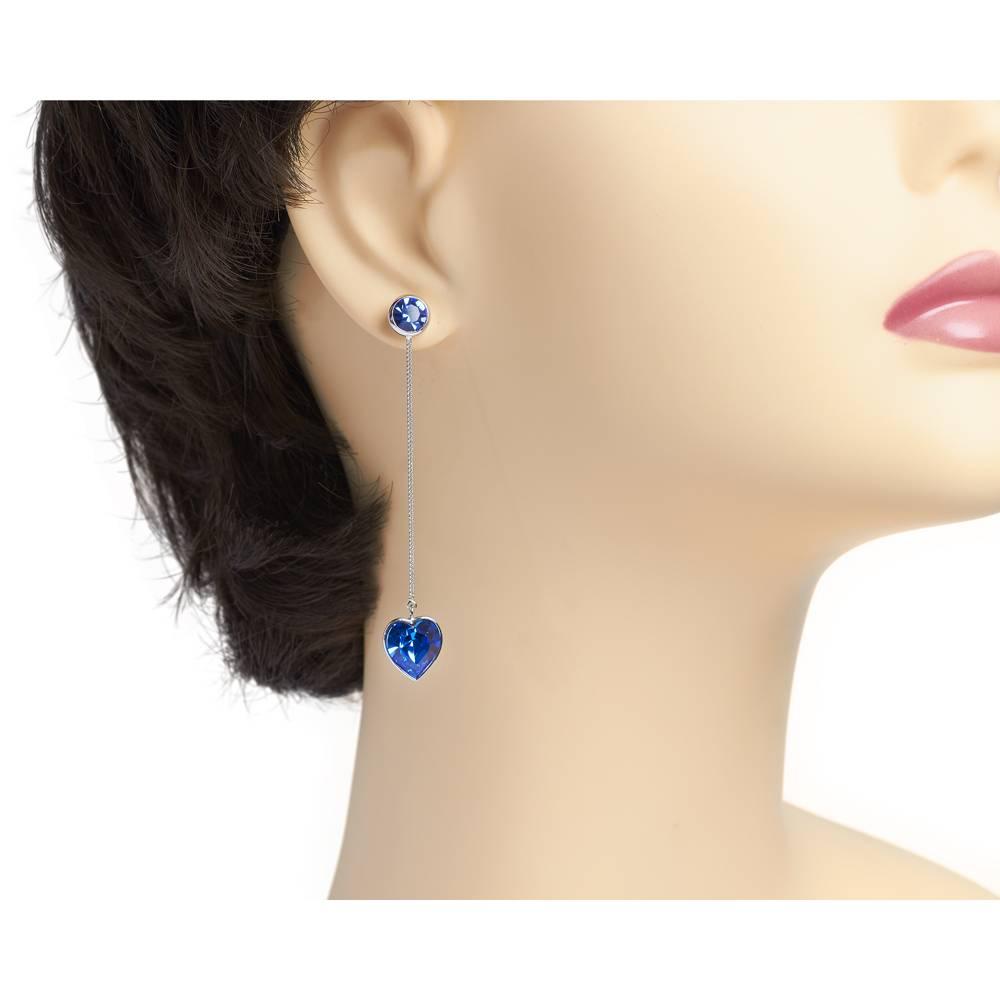 DEMI Collection Ohrringe/Ohrstecker True Love - blau