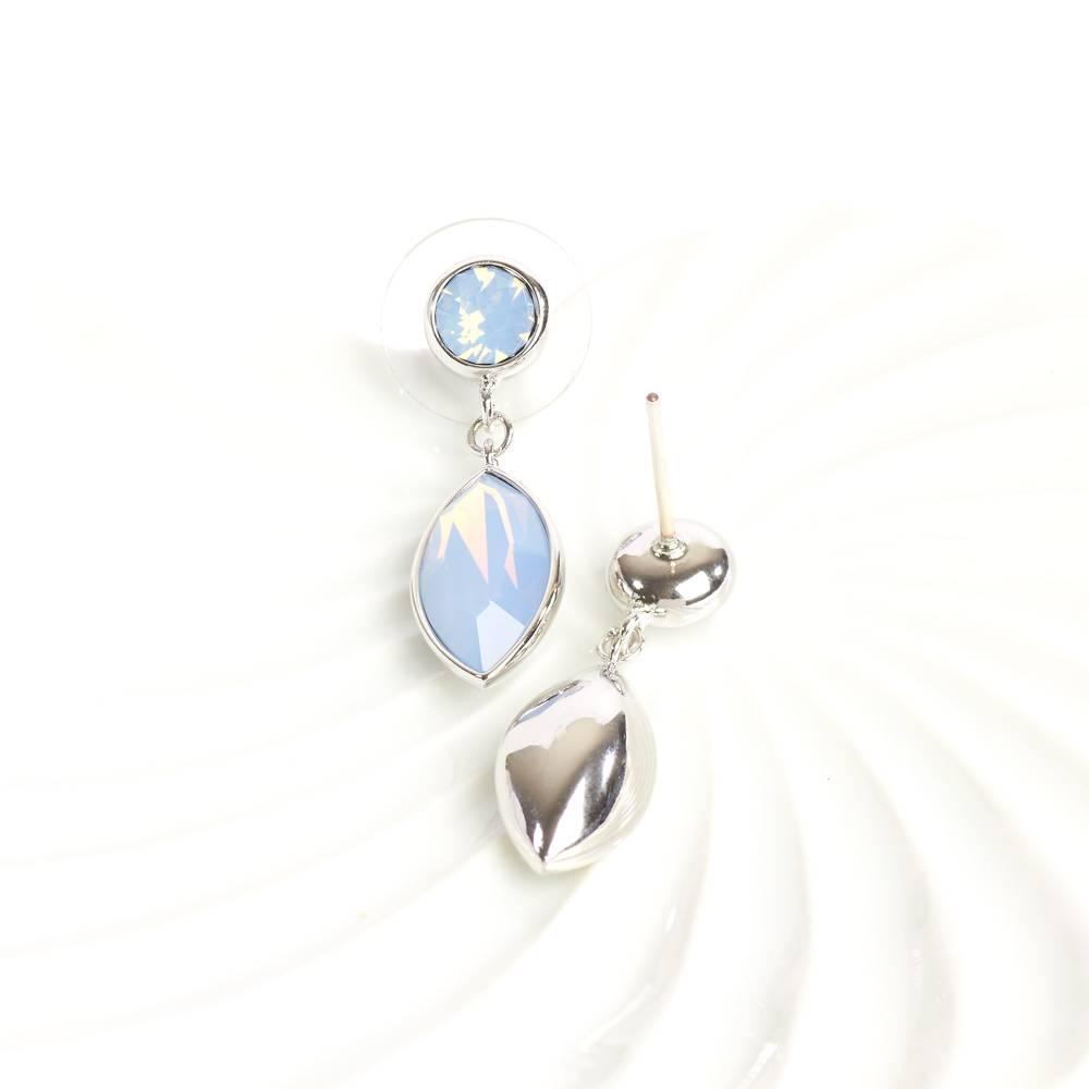 DEMI Collection Ohrringe/Ohrstecker Nautica blau