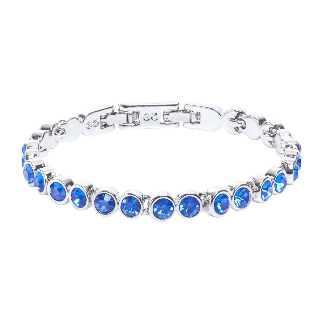 Stella-Bijou Stella-Bijou Tennisarmband, blau