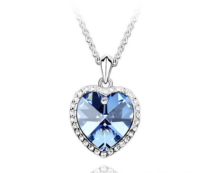 Stella-Bijou Halskette Titanic blau