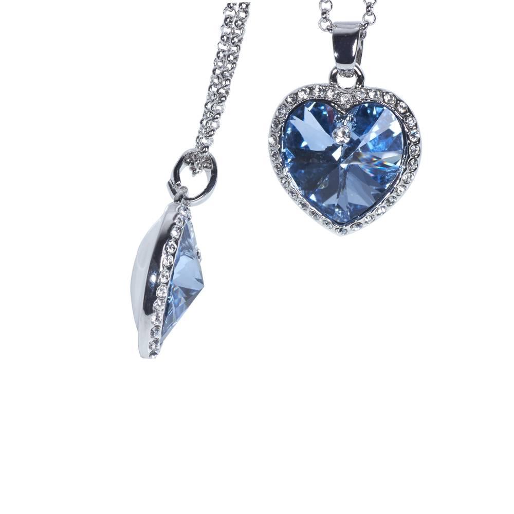 Halskette Titanic blau