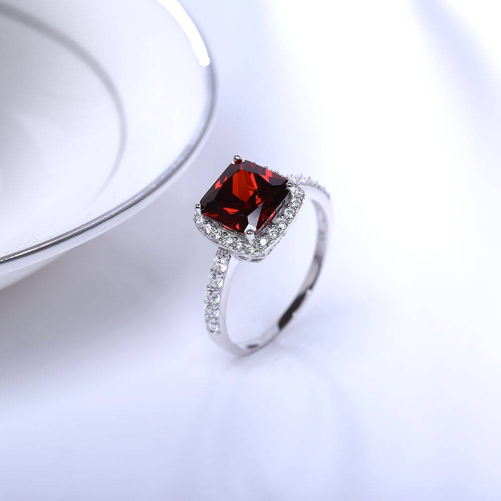 Stella-Bijou Ring Patrizia. rot