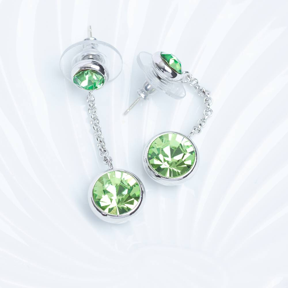 Ohrringe/Ohrstecker Thunderball Mini - grün