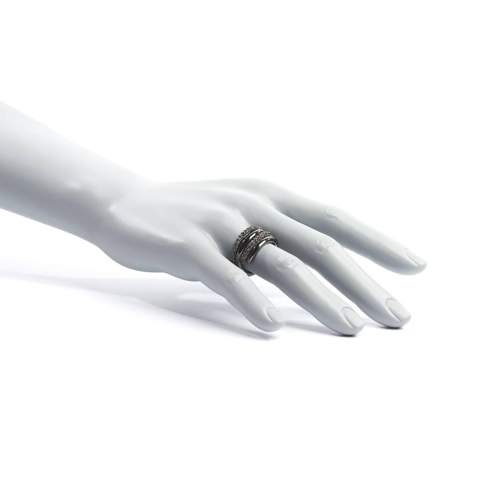 Stella-Bijou Ring Bel Ami, schwarz