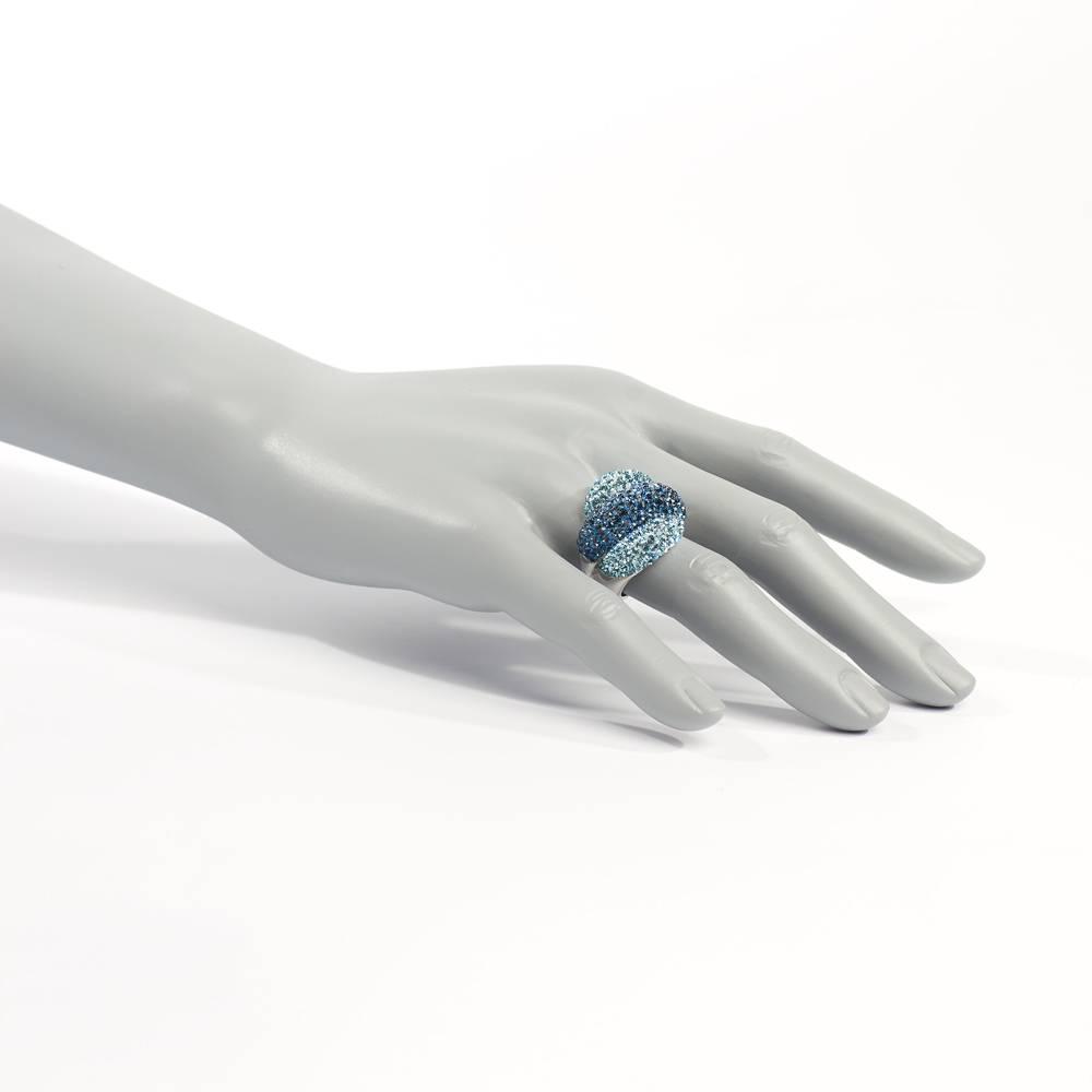Stella-Bijou Ring Palazzo blau