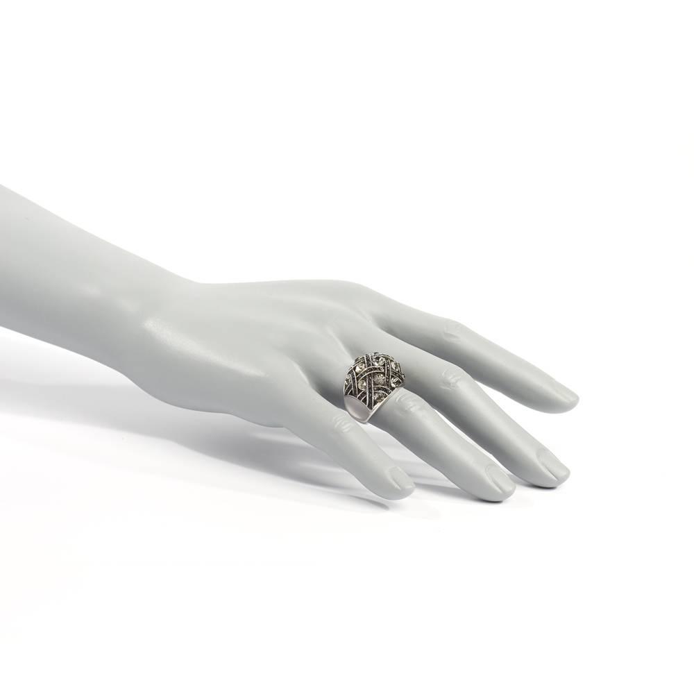 Stella-Bijou Ring Banderas grau