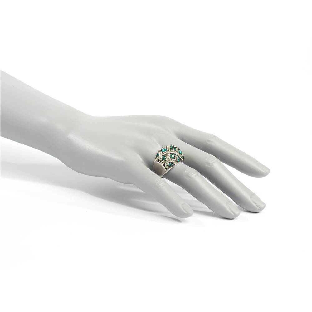Stella-Bijou Ring Banderas grün