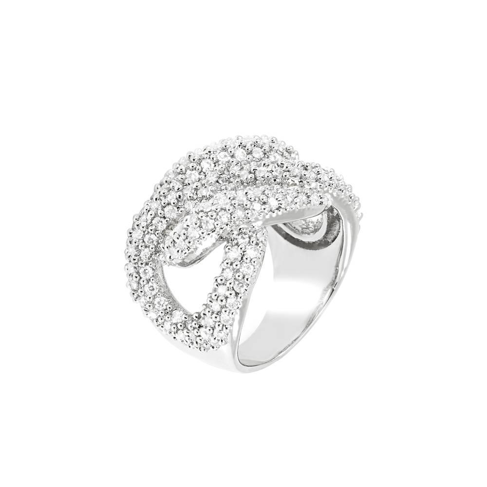 Stella-Bijou Ring Zodiak weiß