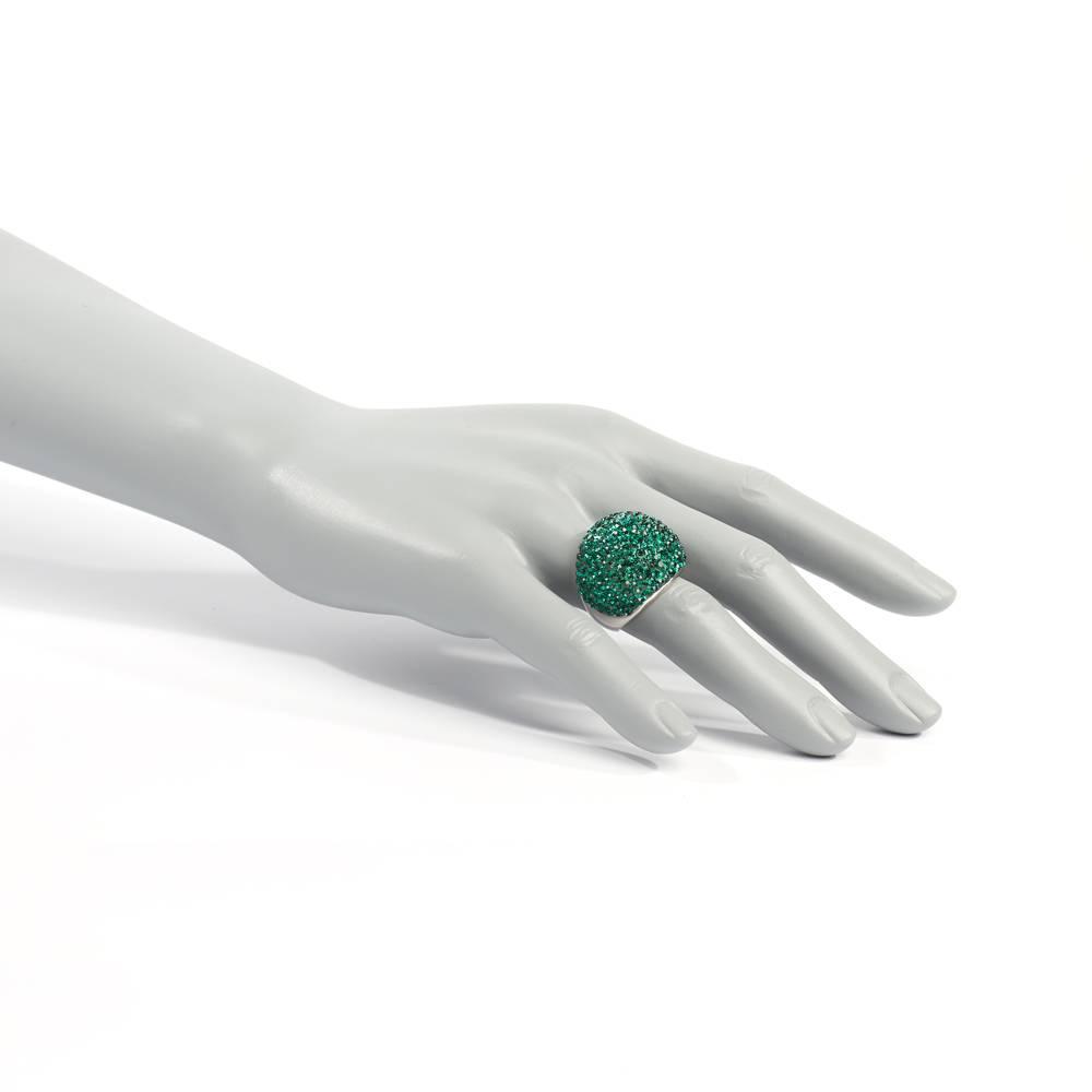 Stella-Bijou Ring Pallas grün