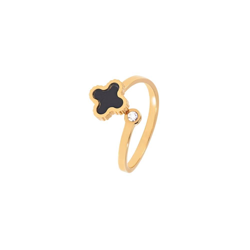 Stella-Bijou Klee sparkle gold - black