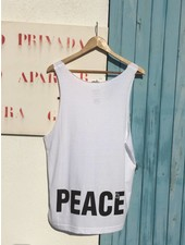 UNISEX DEEP CUT BEACH SHIRT 'PEACE'