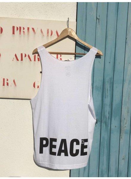 UNISEX DEEP CUT BEACH SHIRT 'PEACE'