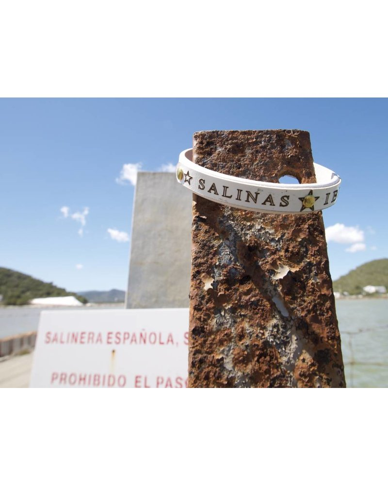 HANDMADE ARTISAN LEATHER ARMCANDY BY 3CHOAMANO SALINAS IBIZA