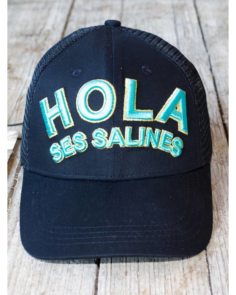 3D EMBROIDERED HOLA SES SALINES CAP