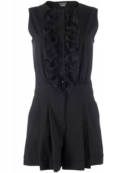 Boutique Moschino Boutique Moschino Playsuit Black