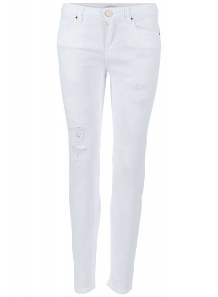 Pinko Pinko Skinny jeans white damaged