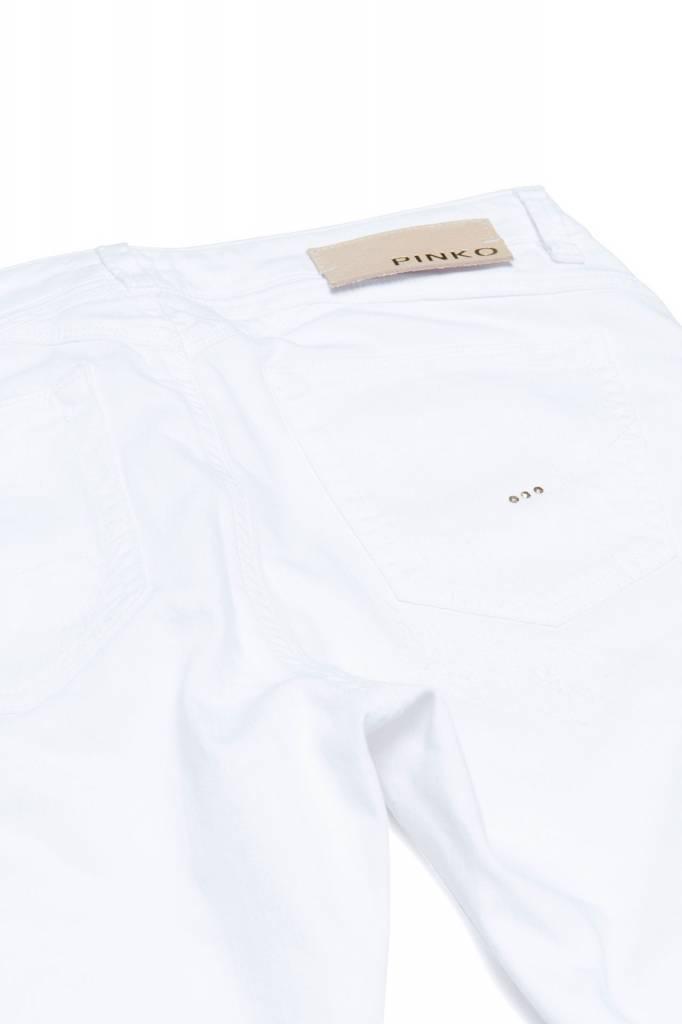 Pinko Pinko Skinny jeans white damaged