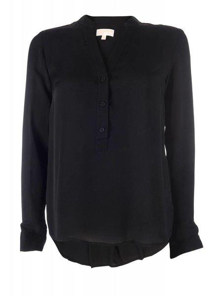 Michael by Michael Kors Michael by Michael Kors silk blouse black
