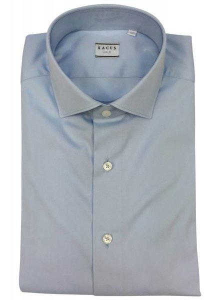 Xacus Xacus Dress Shirt Slim Light Blue
