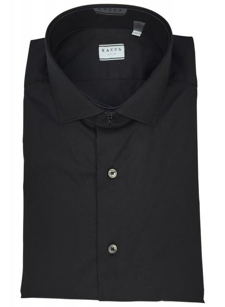Xacus Xacus Dress Shirt Slim Black