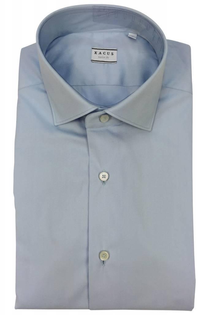 Xacus Xacus Dress Shirt Tailor Light Blue