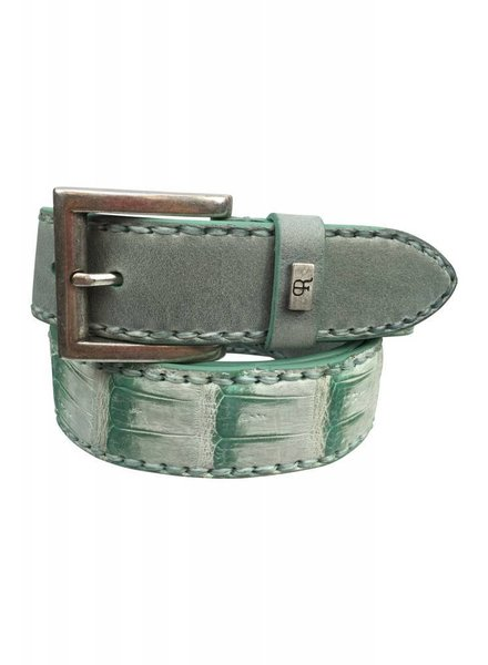 Plácido de la Rosa Placido de la Rossa Belt Croco Mix Green