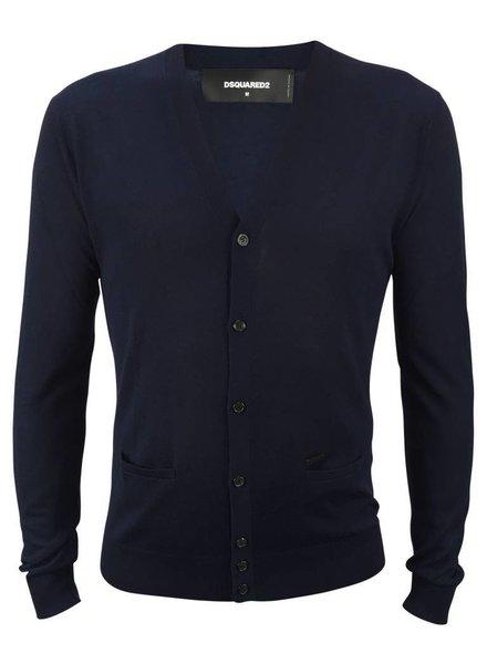 Dsquared2 Dsquared2 Vest Donkerblauw
