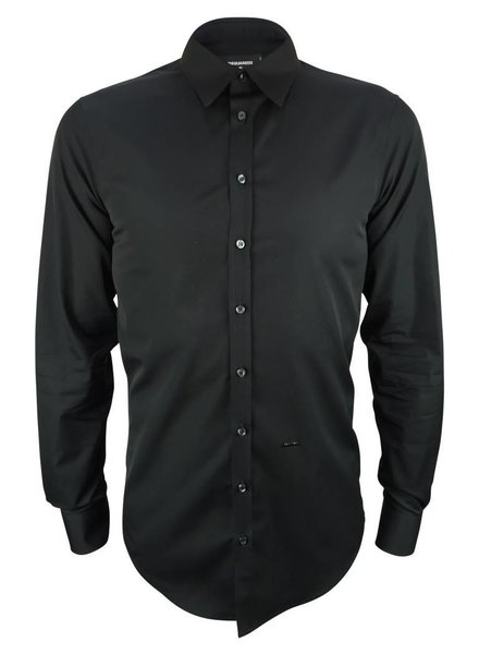 Dsquared2 Dsquared2 Zwart Dress Shirt