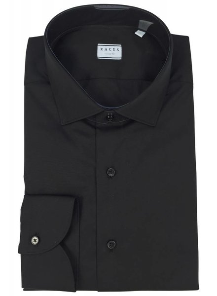 Xacus Xacus Dress Shirt Tailor Zwart