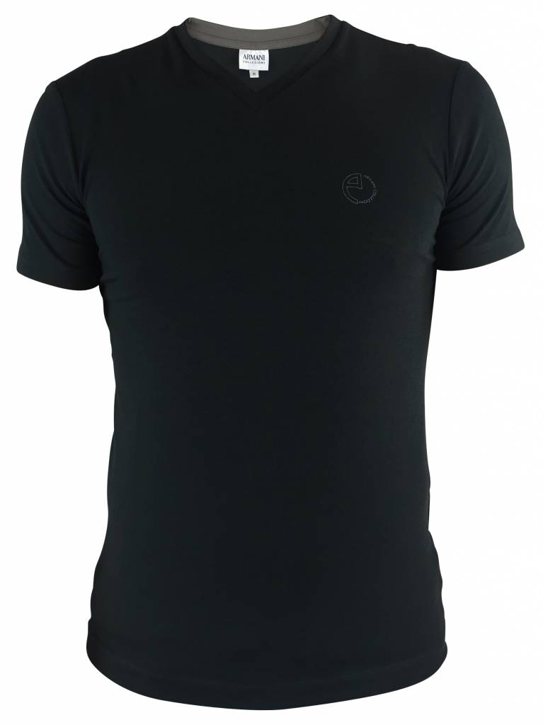 Armani Collezioni Armani Collezioni T-shirt Groen - 6XCT56 CJ4GZ-0530