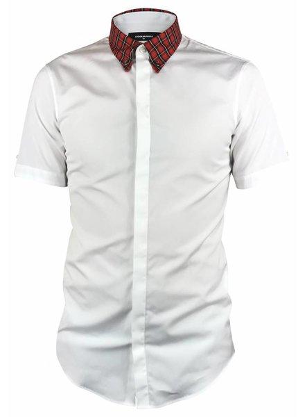 Dsquared2 Dsquared2 Shirt met Geruite Kraag