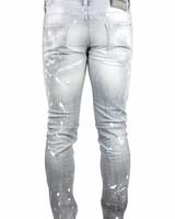 """Dsquared2 Dsquared2 Jeans Grijs """"Slim"""" """"White Paint"""""""