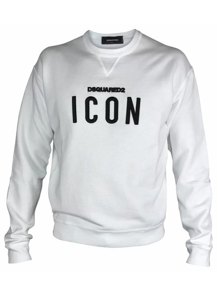Dsquared2 Witte Dsquared2 ICON sweater