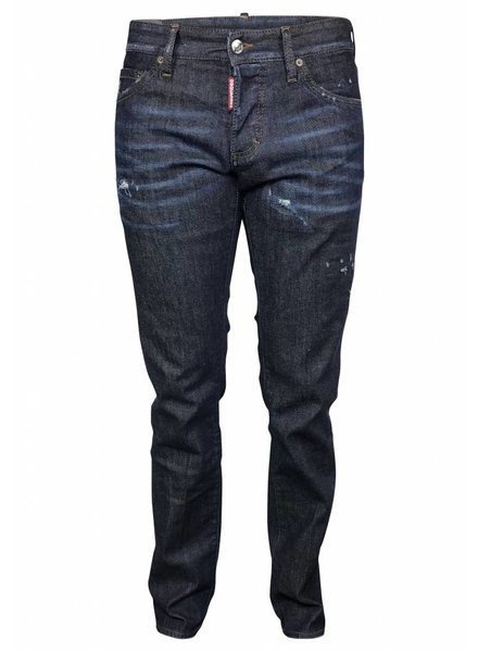 Dsquared2 Donkerblauwe Dsquared Slim jeans