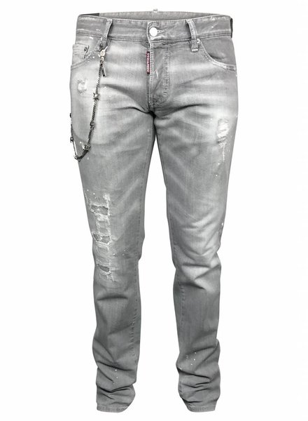 Dsquared2 Grijze Dsquared Slim jeans