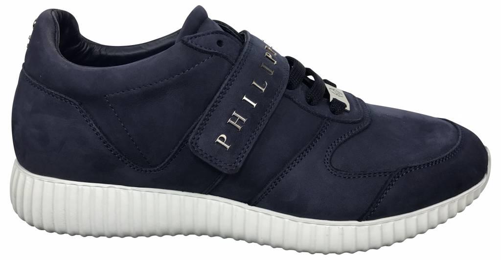 """Philipp Plein Blue """"Ten"""" Runner  - F17S MSC0575 PLE009N-B8K"""